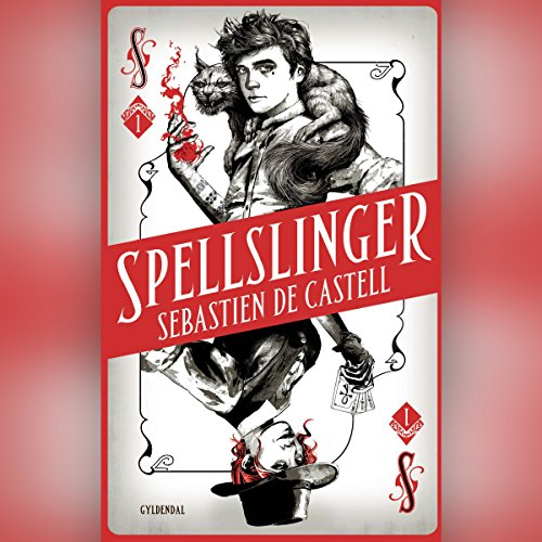 Spellslinger 1 audiobook cover art