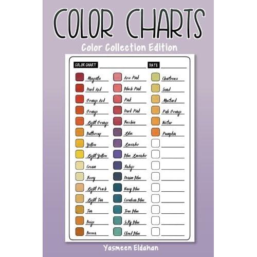 Color Charts Amazon
