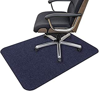 "Office Chair Mat, 55""x35"" Opaque Hard-Floor Desk Mat for Home, 0.16"" Thick Multi-Purpose Low Pile Chair Mat for Hardwood F..."