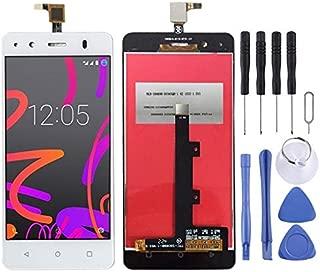 LDK Pantalla Juego de Repuesto for BQ Aquaris M4.5 (Negro) Pantalla LCD táctil digitalizador Asamblea Completa + Herramienta de reparación Completa (Color : Blanco)