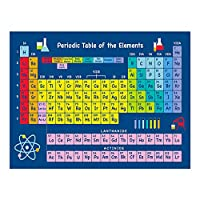 Walory 教育的な就学前のポスター、1枚の要素の周期表科学と化学チャート教育ポスターホームオフィス教室用43x56cm / 16.9x22in