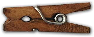 LWR Crafts Wooden Mini Clothespins 100 Per Pack 1