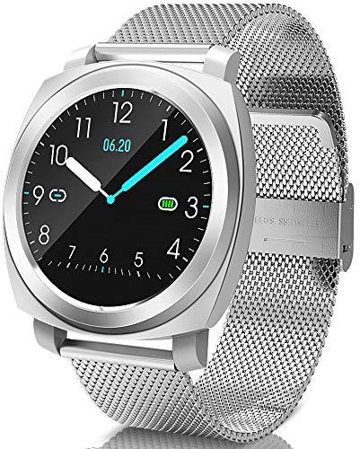 BANLVS Smartwatch, Reloj Inteligente Impermeable 67 con PulsómetroPresión Arterial, Pulsera...