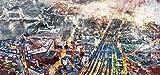 ARTESTOCK Cuadro sobre Vidrio, imágenes en Alta definición. Cristal Templado. Medida 150 x 70. 0,4 mm Grosor