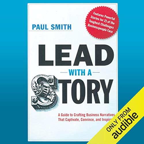 Lead with a Story audiobook cover art