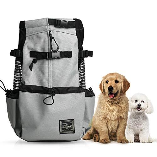 Woolala Sac à dos léger pour chien de petite et moyenne taille, approuvé par les vétérinaires pour les voyages – Facile à transporter et économie de l'espace