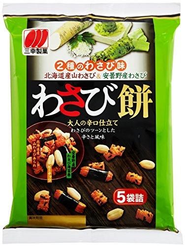 三幸製菓 わさび餅 80g×12個