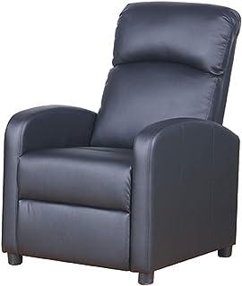 comprar comparacion PRIXTON - Sillon Relax Electrico Reclinable de Masaje con función Calor, Mando a Distancia Incluido, Color Negro, Dimensio...
