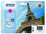 Epson C13T70234010 - Cartucho de tinta, magenta, Ya disponible en Amazon Dash Replenishment