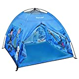 Hamdol Kids Outdoor Play Tent, Fantasy Ice Castle Children's Tent for Boys and Girls, Indoor-Outdoor Universal Imaginative Playhouse with Carry Bag, 47'' X 47'' X 43'' Kids Entertainment Tent