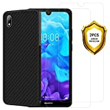 ANEWSIR for Huawei Y5 2019 Screen Protector and Case【easy
