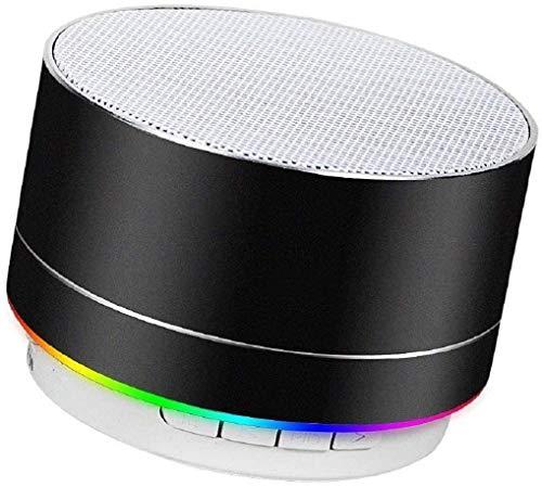 Altavoz Bluetooth portátil con Bajos potentes, Rango de conexión Bluetooth y guía de Voz para...