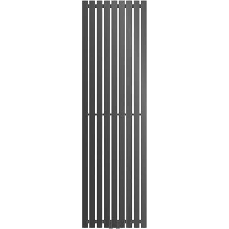 480 x 1800 mm Calefacci/ón Central Agua Blanco Radiador moderno para ba/ño ECD Germany Stella Design Radiador de panel