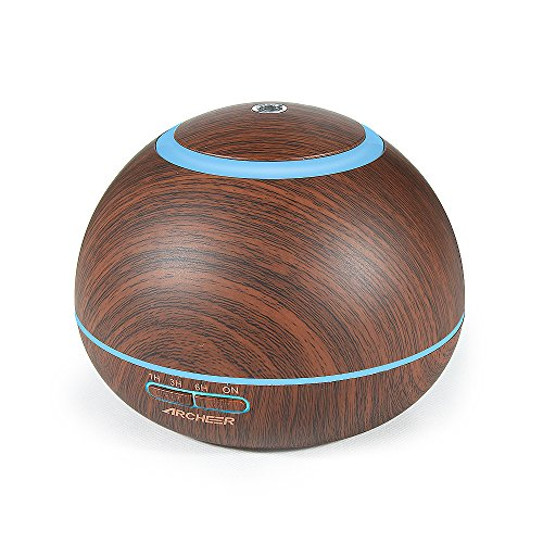 Best Review Of Aromatherapy Diffuser ARCHEER 300ml Essential Oil Diffuser Ultrasonic Cool Mist Humid...