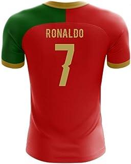 8416eb04c4e Airosportswear 2018-2019 Portugal Flag Home Concept Football Soccer T-Shirt  Jersey (Cristiano
