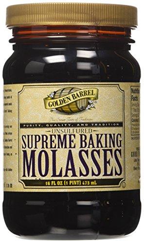 Golden Barrel Unsulphured Supreme Baking/Barbados molasses, 16 Ounce
