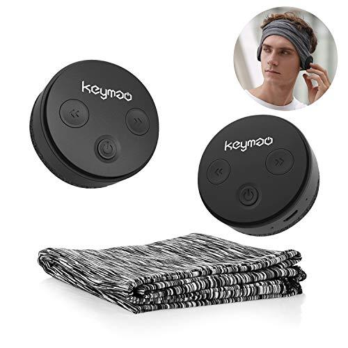 Keymao Bluetooth Headphones IPX5 Waterproof Bluetooth Headset 5.0 Wireless headsets for Women,Men,Boys,Girls Fitness Workout