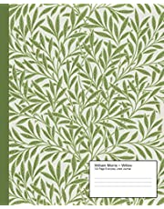 William Morris 'Willow' Pattern Everyday Lined Journal: Vintage Lined Journal Lined Notebook Journal For Writing