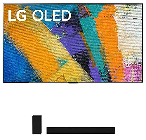 "LG OLED77GXP 77"" 4K Ultra High Definition OLED Smart Gallery TV with a LG GX 3.1 Channel High Res Audio Dolby Atmos Gallery Soundbar (2020)"