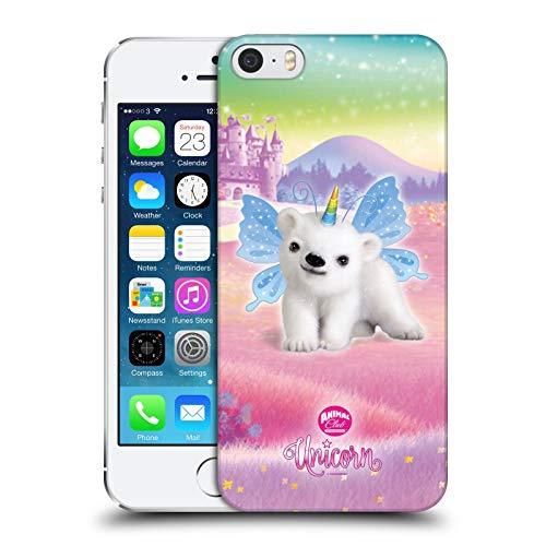 Head Case Designs Ufficiale Animal Club International Orso Polare Animali Domestici Unicorno Cover Dura per Parte Posteriore Compatibile con Apple iPhone 5 / iPhone 5s / iPhone SE 2016