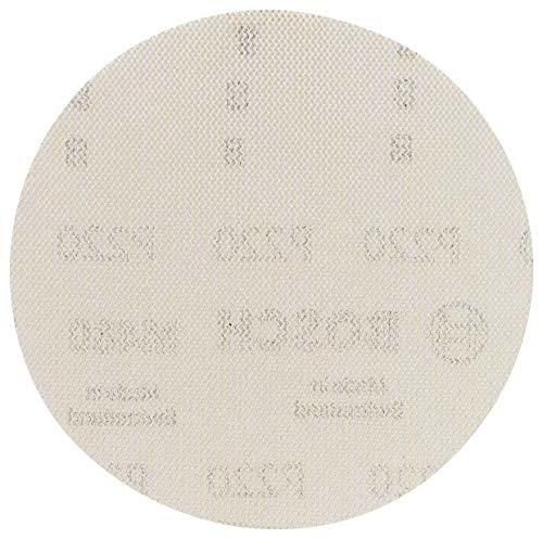 Bosch Professional 5 Stück Schleifblatt M480 Best for Wood and Paint (Holz und Farbe, Ø 125 mm, Körnung P80, Zubehör Exzenterschleifer)
