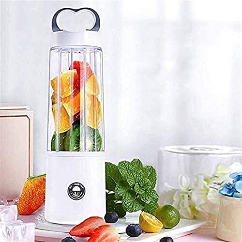 LG Snow Blender portátil de 400 ml, Seis Cuchillas de Comida Inoxidable, Recargable USB, Material de Grado alimenticio, Juicer Cup para el Gimnasio de Viaje de Picnic al Aire Libre