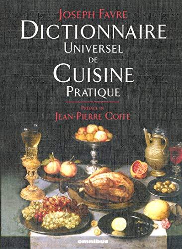 DICT UNIVERSEL DE CUISINE PRAT