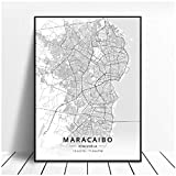 Non-branded WLKQY Maracaibo Leinwand Malerei drucken