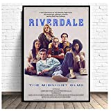 GIRDSS Regalo de la pelcula Riverdale Performing Arts Poster Prints Light Canvas Mural Picture Room Decoration-60X80cm sin Marco