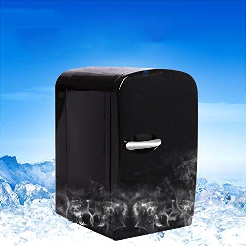 PIGE 6L 12V DC 220V AC Kühlung Heizung Kühlsystem 2 Auto Kühlschrank Mini Kühlschrank Kleine Heimat Mikro Kühlschrank Auto Dual-Use Kühlschrank Abmessungen: 21,3 * 27,5 * 34,3 cm Interne Größe: 16,3 *