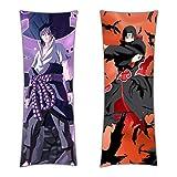 CoolChange Naruto Umarmungskissen, Dakimakura Kissenbezug 150x50cm, Motiv: Sasuke/Itachi