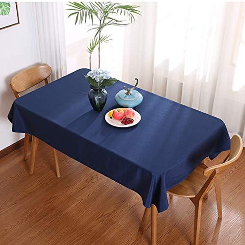 HEZESHOP Mantel Fiesta Cocina Mantel Tela a Prueba de Aceite Tela Decorativa Art Table Cover 140X140CM