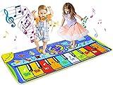 BelleStyle Alfombrilla de piano grande para bailar, alfombrilla...