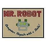 Minimum Mouse MR ROBOT Parche con plancha