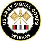 KE OU Army Signal Corps Afghanistan Poster Tin Sign Cafe