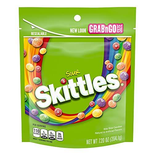 SKITTLES Sours Grab N Go, 7.2-Ounce Bag