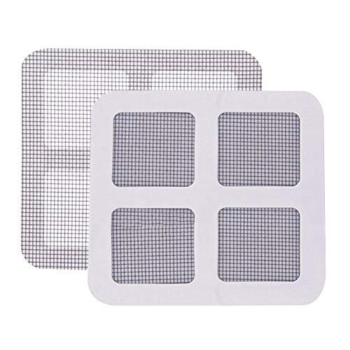 Sdkmah9 - Cinta de reparación de mosquitera para puerta, ventana, mosquitero, mosquitero, mosquitero, para reparar agujeros, grietas y evitar mosquitos