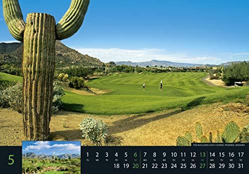 Golf 2018 – Sportkalender / Golfkalender international (49 x 34) - 10