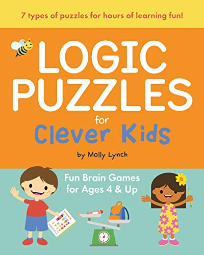 Compare Textbook Prices for Logic Puzzles for Clever Kids: Fun brain games for ages 4 & up  ISBN 9781646110131 by Lynch, Molly