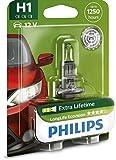 Philips 12258LLECOB1 - H1 Long Life EcoVision B1, 12V, 55W...