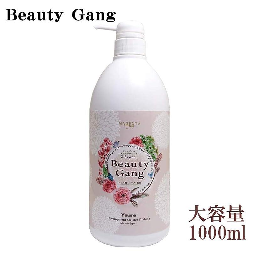 毒性インポート分類MAGENTA アミノジェルウォーターローション 2.5conc. 濃縮タイプ Beauty Gang 1000ml マジェンタ ビューティーギャング
