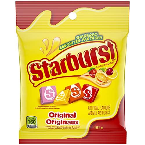 Starburst Original Candy, 191g (Pack of 3)