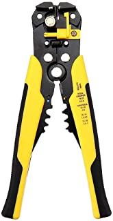 MMOBIEL automatische draad stripper krimper striptang professionele tang voor het krimpen snijden 10-24 AWG 0,2-6,0mm ² Ze...