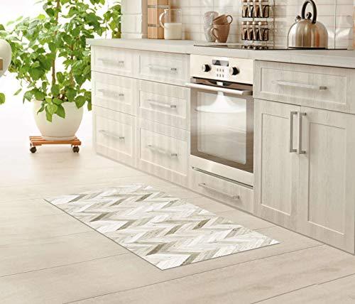 BOTTA Vinyl Floor Mat – Linoleum Flooring for Kitchen, Bathroom, Doormat – Eco-Friendly Non-Toxic PVC – UV Printing – Easy to Clean and Waterproof Linoleum Mat