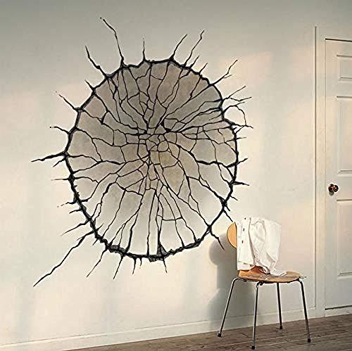 Calcomanía para decoración de sala de estar 1475 creativa 3D para el hogar con impresión mural paisaje paisaje 5 0