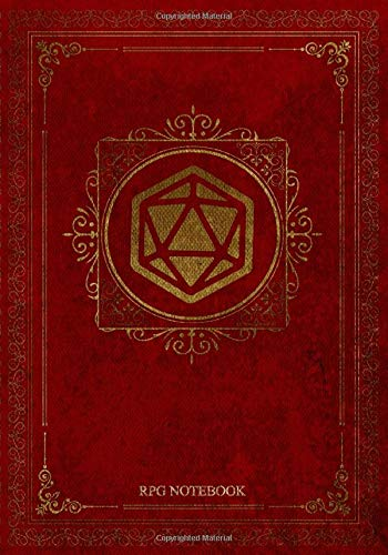 RPG Notebook: Blank Quad Ruled Graph Paper for Role Playing Games. Notes, tracking, mapping, terrain plans for DM Dungeon Master or a GM Game Master