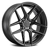 TSW 19' Inch Wheel Rim Tabac 19x8.5 30mm 5x114.30 SEMI Black