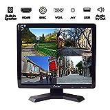 Monitor de Seguridad LCD de 12/15/17/19 Pulgadas, de CCTV, VGA, HDMI, AV BNC HD (retroiluminación LED)