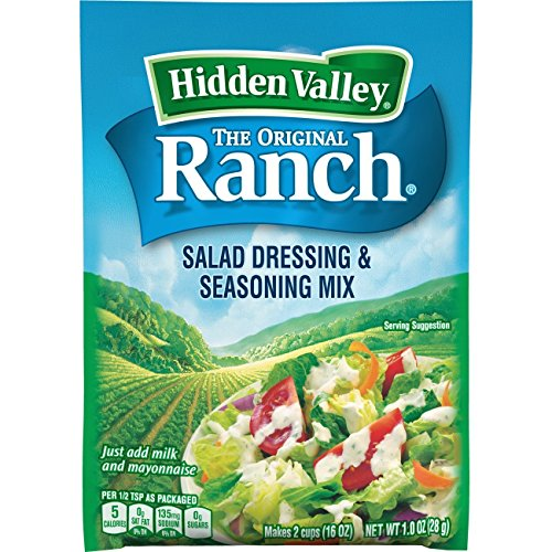 Hidden Valley Original Ranch Salad Dressing & Seasoning Mix, Gluten Free - 1 Packet (Package May Vary)