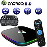 Android 9.0 TV Box,Easytone Q Plus Android Boxes with 4GB RAM 64GB ROM
